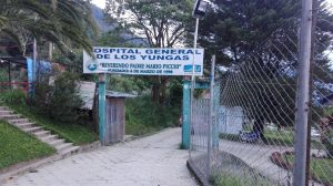 ingreso al hospital general de los yungas